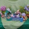 6月の祭壇  Der Jahreszeitentisch im Juni in der Regenzeit