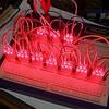 テールライトLED化計画・回路仮組み