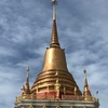 駅近で行きやすい!!黄金の仏塔が輝くローカル寺院『ワット・バンナーナイ』@BTSバンナー