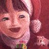 パステル「小さな贈り物2」