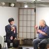 早稲田大学。加藤一二三先生と中村太地六段。