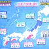 沖縄の快晴日数は最下位