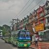 「チェンセーン」~「チェンラーイ」路線バス、~「チェンマイ」までは「グリーンバス」で一気にとは行かなかった・・・。
