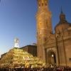 年に一度のZaragozaサラゴサ・ピラールの祭礼