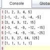 TI-Nspire & Lua / スクリプティングのヒント / メタテーブルを使う 2 / 新しくリスト型のデータを作って要素同士の四則演算ができるようにする