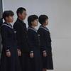 生徒朝会 ~新委員長の公約発表~