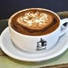 築地の「Turret Coffee」でターレットラテ。