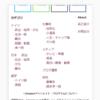 【コピペ用】フッターにサイトマップを作る方法