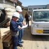 産業廃棄物中間処理状況視察