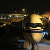 中国国際航空ビジネスクラスでシンガポールから北京へ ANA(DIA)修行2019 2-12
