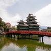 国宝松本城を散歩(長野県松本市)