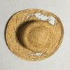 ボロボロの麦わら帽子