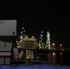室蘭市 崎守埠頭からのJX工場夜景