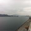 今日の気仙沼湾です
