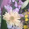 花束をもらいました