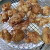 幸運な病のレシピ( 1488 )朝:鶏モモ唐揚げ、ゴーヤ豚レタス炒め、鮭、ワラサカマ焼、味噌汁