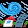 台風対策 飛散防止シート マジックミラー効果