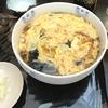 神田の老舗蕎麦屋まつやの玉子とじそば