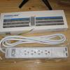 kr282 Poweradd 電源タップ USB充電ポート付 雷ガード AC 4個口 USB 2個口 火災防止