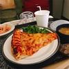 【アメリカで出産】病院食はピザにケーキに大満足♡!