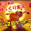 ポケモンMODパート3(その1):「ポケモン2匹ゲットだぜ!?」
