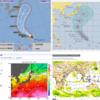 【ダブル台風到来】台風21号『ブアローイ』は『強い』勢力のまま26日にも関東地方へ接近!台風19号の再来か!台風20号は温帯低気圧に変わって本州へ!被災地では洪水・土砂崩れの恐れあり!