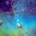 星の彼方 雲の隙間