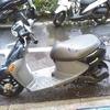#バイク屋の日常 #スズキ #レッツ4 #洗車 #納車