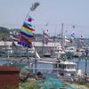 大漁旗・尾山港?(角島):下関市