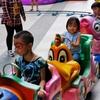 タイはこの週末(子供の日)やったんや。