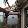 デッキ 屋根 DIY 9