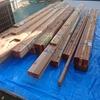 【ウッドデッキDIY】木材が到着したら必ずやること~基準の根太設置まで