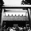 #0163 伊勢神宮(外宮)をRICOH GRのハイコントラスト白黒で撮る。