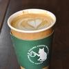 京成立石の「YAZAWA COFFEE ROASTERS」でカフェラテ、グアテマラ。