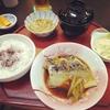「寿司割烹宮坂」のサバ煮付け定食