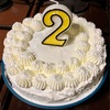 息子2歳の誕生日