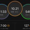 ジョギング10.21km・なかなか治らない左大腿の痛み&富士登山レポその4