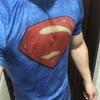 【着画ありレビュー】BODYMAKERの3,500円のスーパーマンのコンプレッションウェアが結構良い感じ