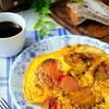 「トマト卵焼き」作りました。