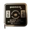 小さくてずっしり重いメタルメジャー PENCO ポケットメジャー GZ111-BK