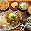 平田町駅前にある食堂「かつ川」を紹介!定食が美味しく、一人飲みも可能!【メニュー・営業時間・駐車場】