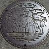 岡崎市のマンホールの蓋(1)