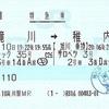 ライラック35号・サロベツ3号 特急券