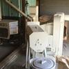 我が家の乾燥、籾摺り、調製設備