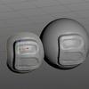 Blender 173日目。「リトポロジーの基礎」その4「ノーマルマップを適用する」。