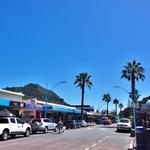 「マウント・マウンガヌイの街並」~ ニュージーランドのイメージとはちょっと違うリゾート地!!