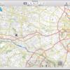 Garmin Edge 520J の地図を作る - Garmin BaseCamp で地図を確認する