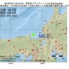 2016年07月21日 02時57分 若狭湾でM2.9の地震