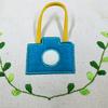 アップリケ刺しゅう付きバッグを作ってみたよ。