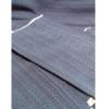 着物生地(318)横段更紗模様織り出し本塩沢紬